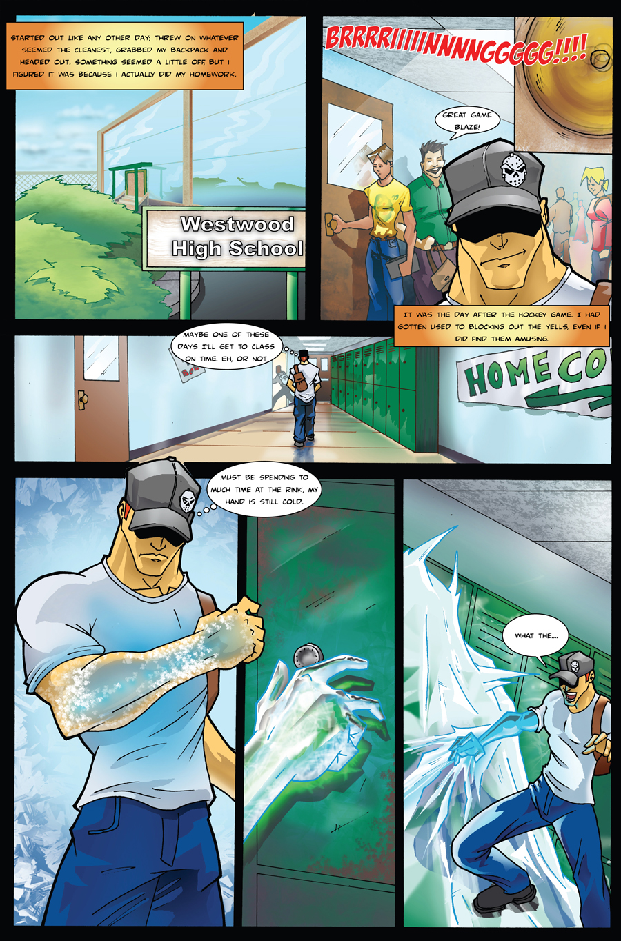 Frost Fire page 2